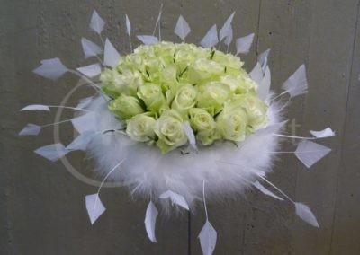 plumes de mariée