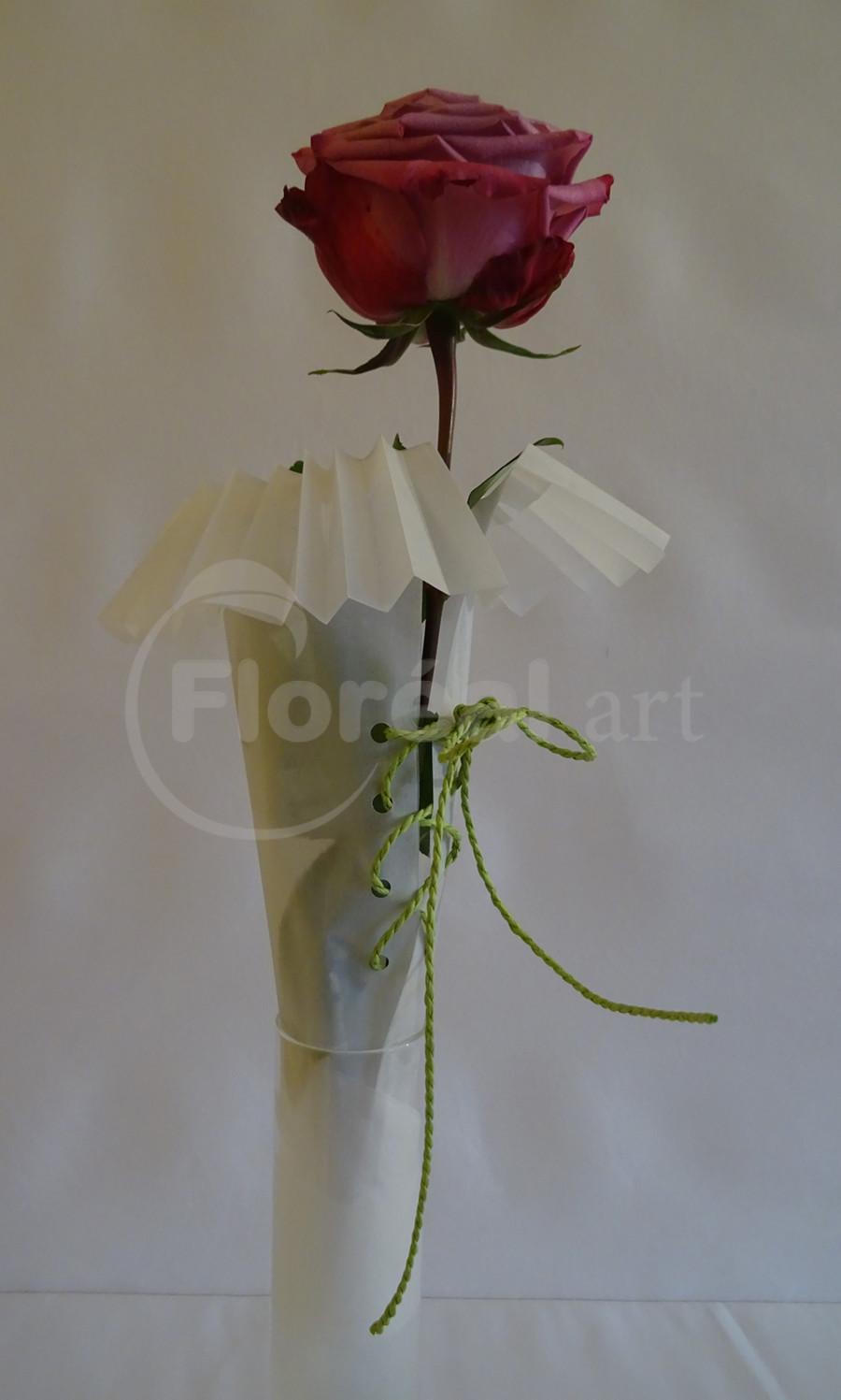 Yves - rose corsetée