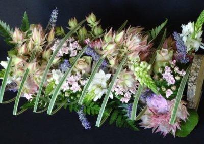 fleurs en pastel