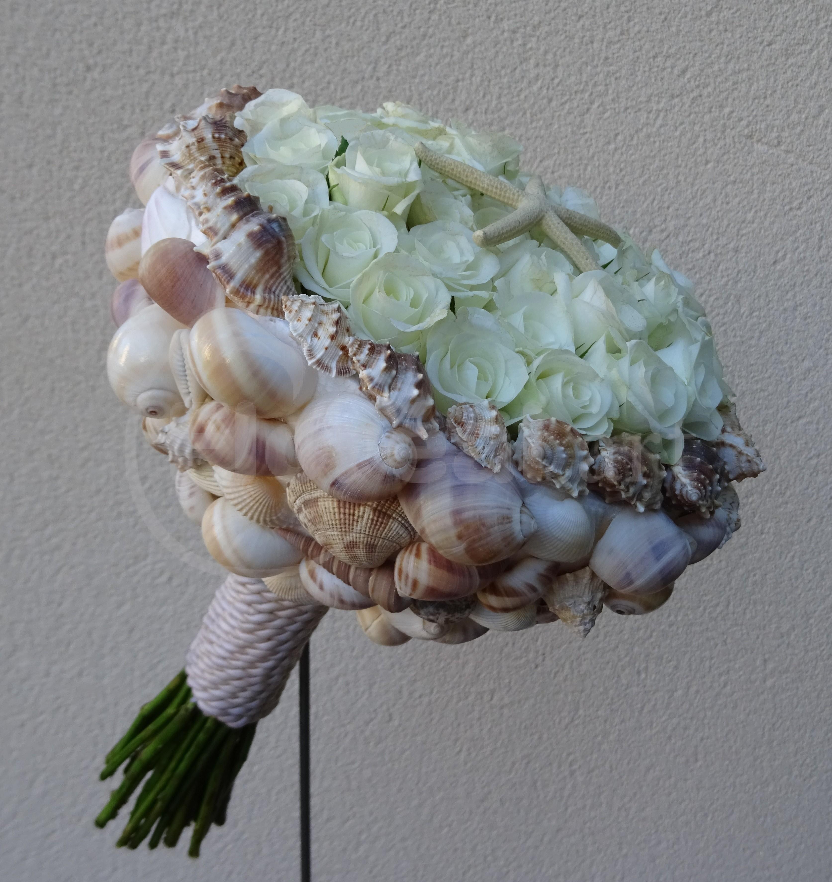 Bouquet de mariée pour une sirène