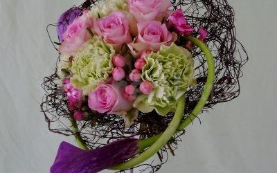 Bouquet main – Création Nadine