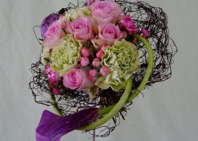 Bouquet rond aux callas-05-19