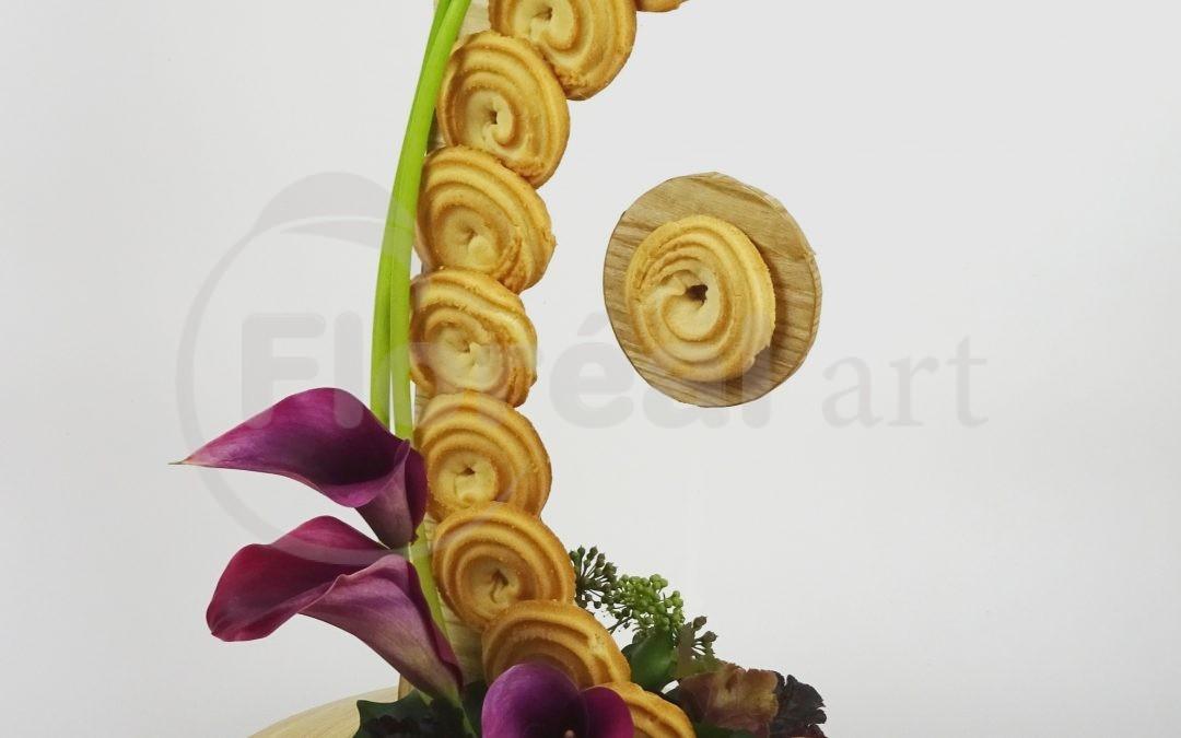 Les Gâteaux et les fleurs         «Créations Yves et Nadine»
